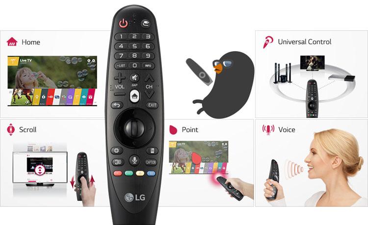 Televizor-Smart-LED-LG-49UF7787-Ultra-HD-magic-remote