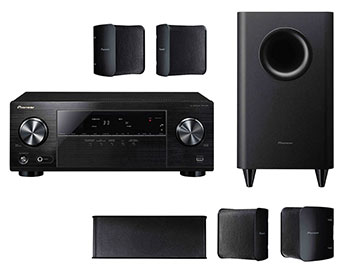 Sistem Audio 5.1 Pioneer receiver VSX 324